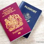 Britské cestovní pasy