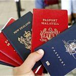 Cestovní pasy: Malajsie, Nový Zéland