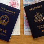Cestovní pasy: USA a Čína