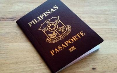 Cestovní pas - Filipíny
